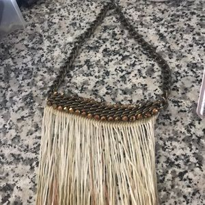 Urban outfitters fringe necklace